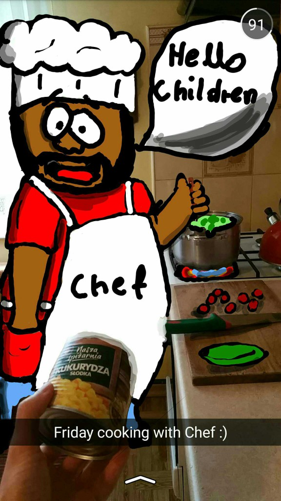 Friday cooking with Chef